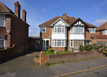 Thumbnail 3 bedroom semi-detached house for sale in Wallwood Road, Ramsgate, Kent