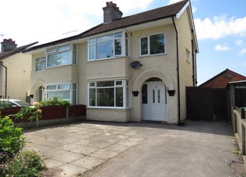 Thumbnail 3 bed semi-detached house for sale in Elgar Avenue, Bromborough, Wirral
