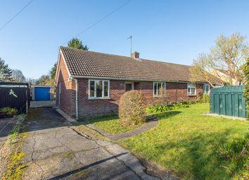 Thumbnail 2 bed semi-detached bungalow for sale in Foxton Road, Barrington, Cambridge