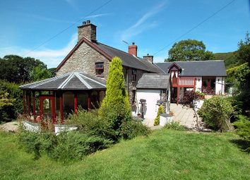 Thumbnail 4 bed barn conversion for sale in Taliesin, Machynlleth