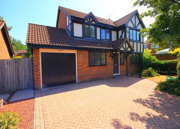 Thumbnail 4 bed detached house to rent in The Rockery, Farnborough
