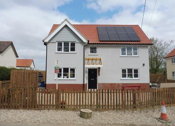 Thumbnail 3 bed detached house to rent in Shop Street, Worlingworth, Woodbridge