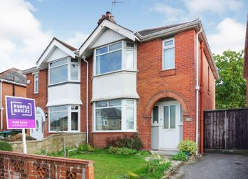 Thumbnail 3 bed semi-detached house for sale in Prince Of Wales Avenue, Regents Park, Southampton