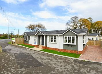 Thumbnail 2 bed mobile/park home for sale in 1 The Lookout, Stoborough BH20.