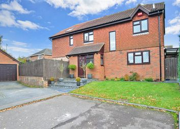 Thumbnail 4 bed detached house for sale in Fellows Close, Gillingham, Kent