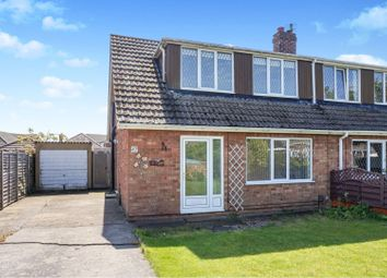 Thumbnail 2 bedroom semi-detached house for sale in Ancaster Avenue, Scartho, Grimsby