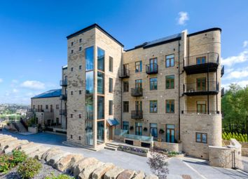 Thumbnail 2 bed flat for sale in Burrwood Court, Stainland, Halifax