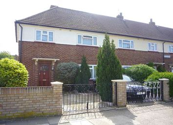 Thumbnail 3 bed terraced house to rent in Peacock Avenue, Feltham