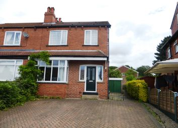 Thumbnail 4 bed semi-detached house for sale in Parkside Gardens, Meanwood, Leeds