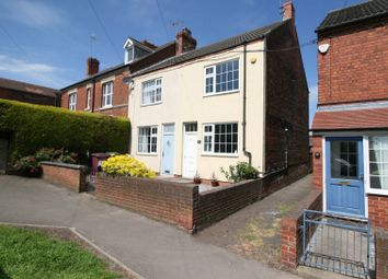 Thumbnail 3 bed end terrace house for sale in Queens Road, Hodthorpe, Worksop
