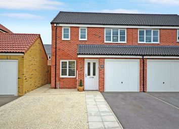 Thumbnail 3 bedroom semi-detached house for sale in Palm House Drive, Selby