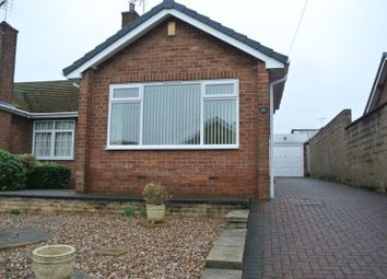 Thumbnail 2 bed semi-detached bungalow to rent in West Bank Lea, Mansfield