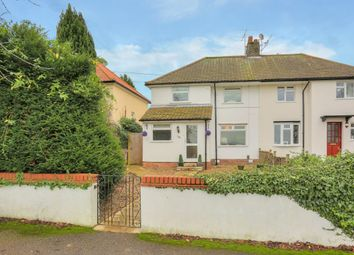 Thumbnail 3 bed semi-detached house for sale in Marford Road, Wheathampstead, St. Albans