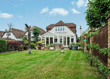 Thumbnail 4 bed detached house to rent in Hollies Avenue, West Byfleet