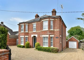 Thumbnail 4 bedroom detached house for sale in Grange Road, Alresford