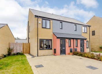 Thumbnail 3 bed semi-detached house for sale in Elvedon Close, Ipswich