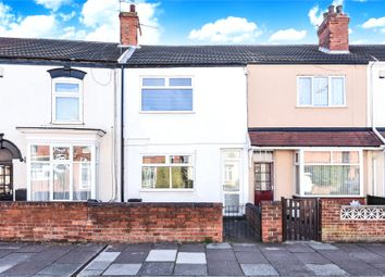 Thumbnail 2 bed terraced house for sale in Coronation Road, Cleethorpes