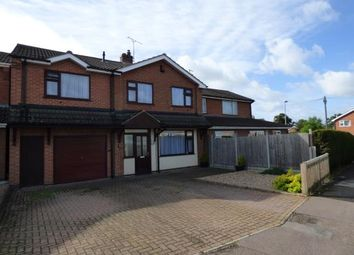 Thumbnail 5 bed semi-detached house for sale in Attfield Drive, Whetstone, Leicester, Leicestershire