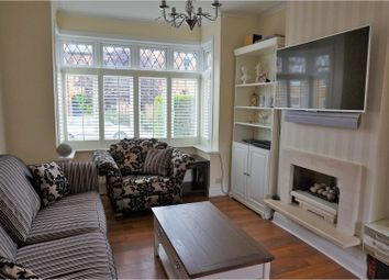 Thumbnail 5 bedroom end terrace house for sale in Bickley Crescent, Bromley