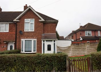 Thumbnail 3 bed end terrace house for sale in Anerley Road, Kingstanding, Birmingham