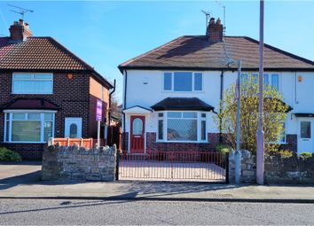 Thumbnail 2 bed semi-detached house for sale in Leeming Lane North, Mansfield