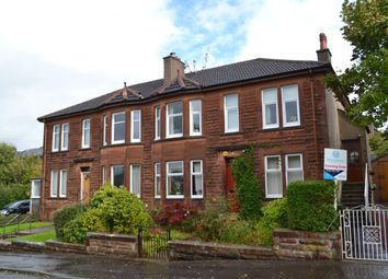 Thumbnail 2 bed flat for sale in Snaefell Crescent, Burnside, Glasgow