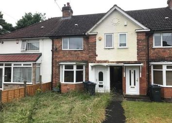 Thumbnail 3 bed terraced house for sale in Rodbourne Road, Birmingham, West Midlands