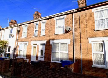 Thumbnail 3 bed terraced house to rent in Gladstone Road, Ipswich