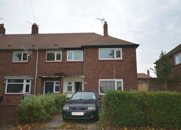 Thumbnail 3 bedroom end terrace house to rent in Elm Drive, Crewe