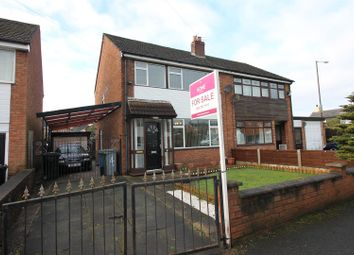 Thumbnail 3 bed semi-detached house for sale in Dean Close, Partington, Manchester