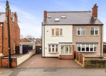 Thumbnail 3 bed semi-detached house for sale in Broad Lane, Brinsley, Nottingham