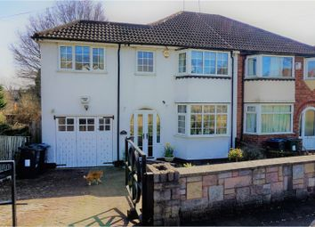 Thumbnail 4 bed semi-detached house for sale in Gibbins Road, Birmingham