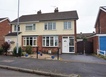 Thumbnail 3 bed semi-detached house for sale in Mickleden Green, Coalville