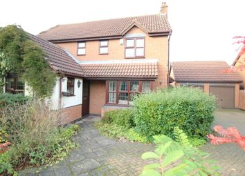 Thumbnail 4 bedroom detached house for sale in Glebe Close, Worksop