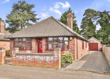 Thumbnail 4 bed detached bungalow for sale in Hamond Road, Hellesdon, Norwich