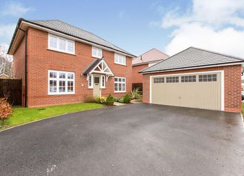 Thumbnail 4 bed detached house for sale in Moorland Road, Sandbach, Cheshire