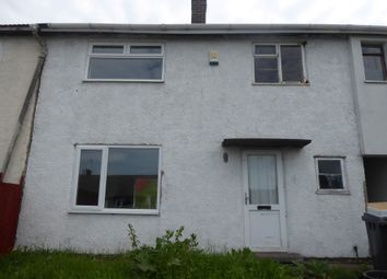 Thumbnail 3 bedroom terraced house for sale in 95 Springfield Crescent, Bolsover, Chesterfield, Derbyshire