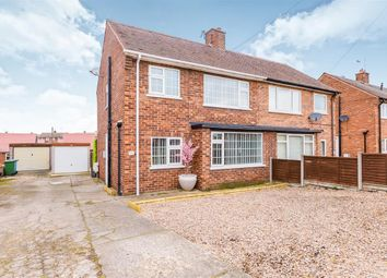 Thumbnail 2 bed semi-detached house to rent in Whitby Road, Harworth, Doncaster