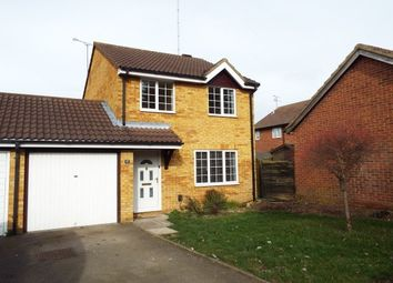 Thumbnail 3 bed link-detached house to rent in Coltsfoot Green, Luton