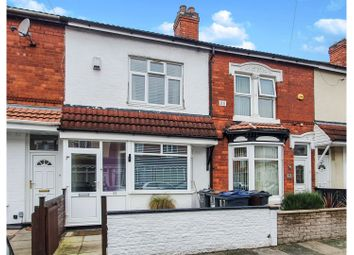 Thumbnail 2 bed terraced house for sale in Monk Road, Birmingham