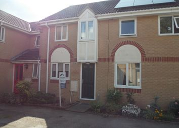 Thumbnail 2 bedroom terraced house to rent in Blackthorn Court, Soham, Ely
