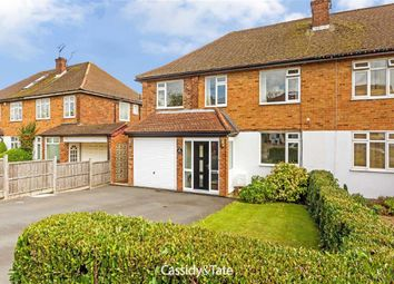 Thumbnail 5 bed semi-detached house for sale in The Ridgeway, St Albans, Hertfordshire
