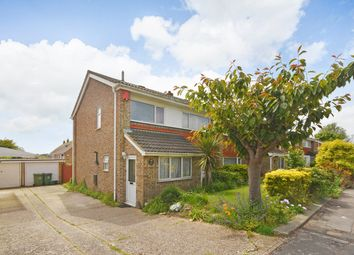 Thumbnail 4 bed semi-detached house for sale in Linksway, Folkestone
