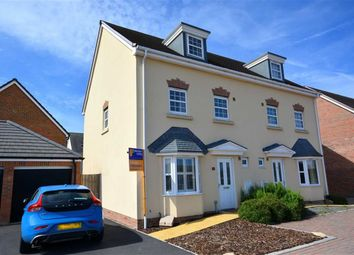 Thumbnail 4 bed semi-detached house for sale in Wycombe Road Kingsway, Quedgeley, Gloucester
