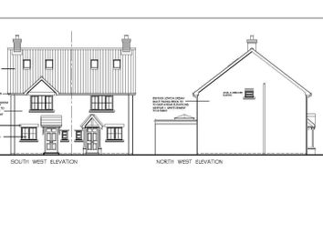 Thumbnail 3 bed semi-detached house for sale in Cloven Ends, Langtoft, Peterborough