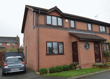 Thumbnail 3 bed semi-detached house for sale in Llys Eithin, Northop Hall, Mold