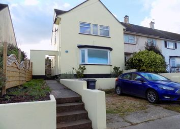 Thumbnail 3 bed end terrace house for sale in Tavy Avenue, Shiphay, Torquay