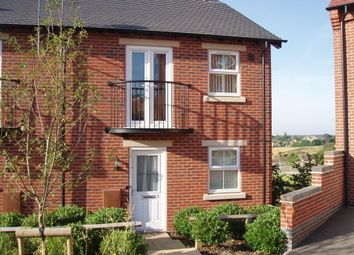 Thumbnail 1 bed mews house to rent in Solent Road, Church Gresley, Swadlincote