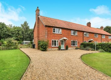 Thumbnail 3 bed property for sale in Old Buckenham Road, Carleton Rode, Norwich