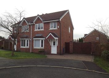 Thumbnail 3 bed semi-detached house to rent in Badbury Close, Haydock, St. Helens